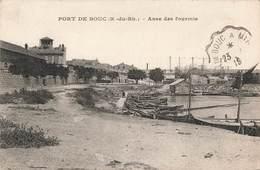 13 Port De Bouc Anse Des Fourmis Cachet Convoyeur Ambulant Port De Bouc à Miramas 1919 - Otros Municipios