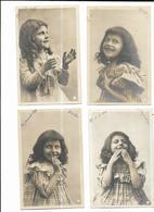 4225 Trés Jolie Serie 8 Cpa Ed Clayette 1903 Enfant  - Tres Rare - Colecciones, Lotes & Series