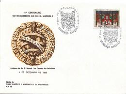 Moçambique – 1969 King Manuel II FDC - Mozambique