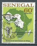 Sénégal YT N°432 Journées Scientifiques Culturelles Du GADEF Oblitéré ° - Senegal (1960-...)