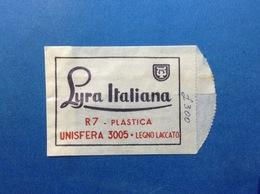 PUBBLICITÀ BUSTINA PUBBLICITARIA MATITE A SFERA LYRA ITALIANA JOB NERVI GENOVA - Publicidad