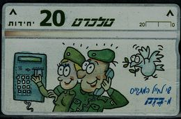 ISRAEL 1996 BEZEQ PHONECARD SOLDERS MINT VF!! - Israel