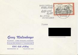 GERMANY. POSTMARK AIBLING. 1971 - BRD