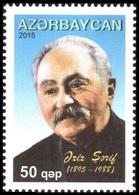 190 - Azerbaijan - 2015 - 120th Birth Anniversary Of Aziz Sharif - 1v - MNH - Lemberg-Zp - Azerbaïjan