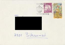 GERMANY. POSTMARK WÜRZBURG - BRD