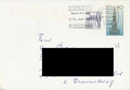 GERMANY. POSTMARK BAYREUTH. 1977. MUSIC - BRD
