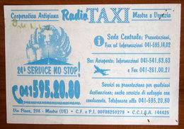 ITALIA Ticket TAXI Mestre  - 2006 Usato - Transportation Tickets
