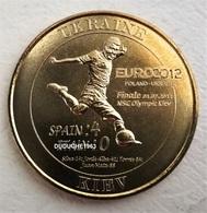 Monnaie De Paris. Football Ukraine-Kiev Euro 2012 Espagne/Italie - Monnaie De Paris