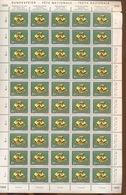 SUISSE Feuilles De 50 Ex De 1958 - Minerales