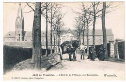 Westmalle - Abdij Der Trappisten - L'Entrée De L'Abbaye Des Trappistes (Geanimeerd) - Malle