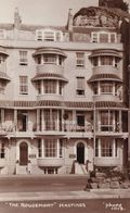 The Rougemont Hotel Hastings Vintage Real Photo Postcard - Angleterre