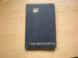 Prazska Mestska Pojistovna1936 - Calendars