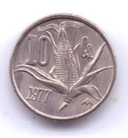 MEXICO 1977: 10 Centavos, KM 432.2 - Mexico