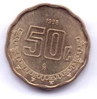 MEXICO 1996: 50 Centavos, KM 549 - Mexico