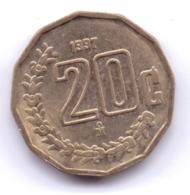 MEXICO 1997: 20 Centavos, KM 548 - Mexico