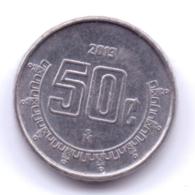 MEXICO 2013: 50 Centavos, KM 936 - Mexico