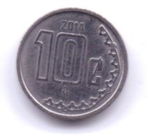 MEXICO 2014: 10 Centavos, KM 934 - Mexico