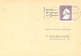 GERMANY. POSTMARK DRESDEN 1968 - BRD