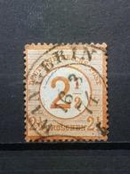 Deutsche Reich Brustschild Mi-Nr.29 Gestempelt - Germania