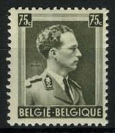 [A1181] België 480-V2 ** - Streep In Nek - Griffe Sur La Nuque - Variétés (Catalogue COB)