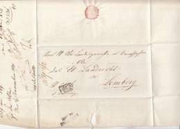 ÖSTERREICH 1850 - Vorphila Faltbrief Gel.v. Wien > Lemberg, Mit Stempel Wien + Lemberg - Österreich