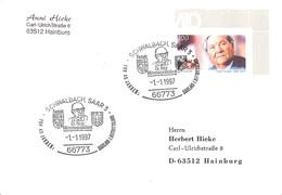 GERMANY. POSTMARK SCHALBACH. 1997 - BRD