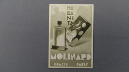 Carte Parfumée MOLINARD GRASSE - Vintage (until 1960)