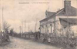 36 - INDRE - CONCREMIERS - 10084 - Poste Et Avenue De La Gare - Frankrijk