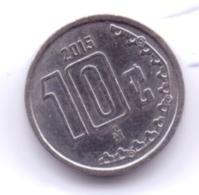 MEXICO 2015: 10 Centavos, KM 934 - Mexico