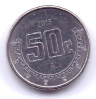 MEXICO 2015: 50 Centavos, KM 936 - Mexico