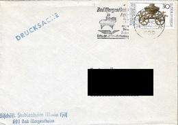 GERMANY. POSTMARK MERGENTHEIM. 1977 - BRD