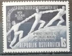 Autriche 1955 / Yvert N°851 / ** - 1945-60 Ungebraucht