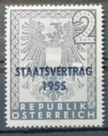 Autriche 1955 / Yvert N°850 / ** - 1945-60 Ungebraucht