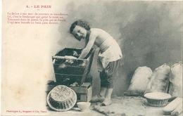 LE PAIN Petite Fille En Pantalon Dans Le Pétrin - Scenes & Landscapes