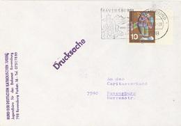 GERMANY. POSTMARK RAVENSBURG - BRD