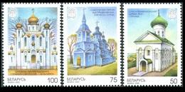 250 - Belarus - 2000 - Churches And Castles - 3v - MNH - Lemberg-Zp - Bielorrusia