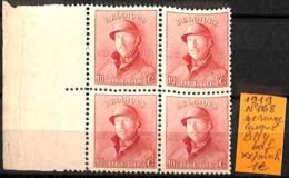 D - [830922]TB//**/Mnh-Belgique 1919 - N° 168, 10c Rouge, Casqué, Bd4, Bdf, Familles Royales, Rois - 1919-1920 Roi Casqué