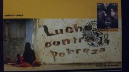 O) 2006 PERU, AMERICA UPAEP, FIGHT AGAINST, HAND, FDC XF - Peru
