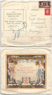Charity Coronation Envelope - King George VI - Hackney 27may1937 To Germany Taxed 30pf - Familles Royales