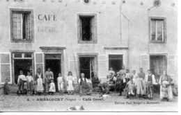 Ambacourt Café Goret - Autres Communes