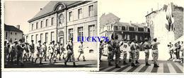 2 Photographie La Revue Du 14 Juillet 1959 A Verdun - Guerre, Militaire