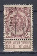 1728 Voorafstempeling Op Nr 82 - TOURNAI 1911 DOORNIJK -  Positie A - Precancels