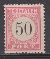 Nederlands Indie Dutch Netherlands Indies Port 12 Tanding B Type 3 MLH ; Portzegel Due Stamp Timbre Tax Dienstmarke 1882 - Niederländisch-Indien
