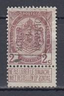 1728 Voorafstempeling Op Nr 82 - TOURNAI 1911 DOORNIJK -  Positie B - Precancels