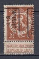 2241 Voorafstempeling Op Nr 109 - TOURNAI 1913 DOORNIJK -  Positie A - Precancels