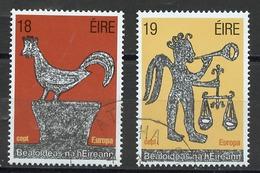 Europa CEPT 1981 Irlande - Ireland - Irland Y&T N°440 à 441 - Michel N°439 à 440 (o) - Europa-CEPT