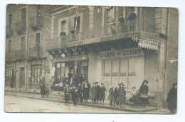 3677 Capdenac Gare - Rue De La République - Gand Café De L'Union Au Petit Paris Papeterie - France