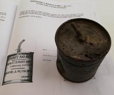 Très Rare Grenade A Main Anglaise N° 8 MKI  Mai 1915. - 1914-18