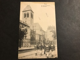 CPA Metz 1900 Nels Lothringen Série 104 N° 48 St Euchariuskirche St Euchaire - Metz