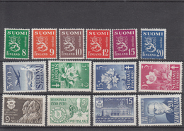 Finland 1950 - Full Year MNH ** - Ganze Jahrgänge